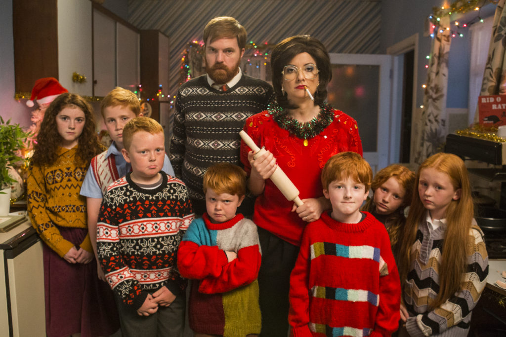 Bridget, eamon and their six to eight kids